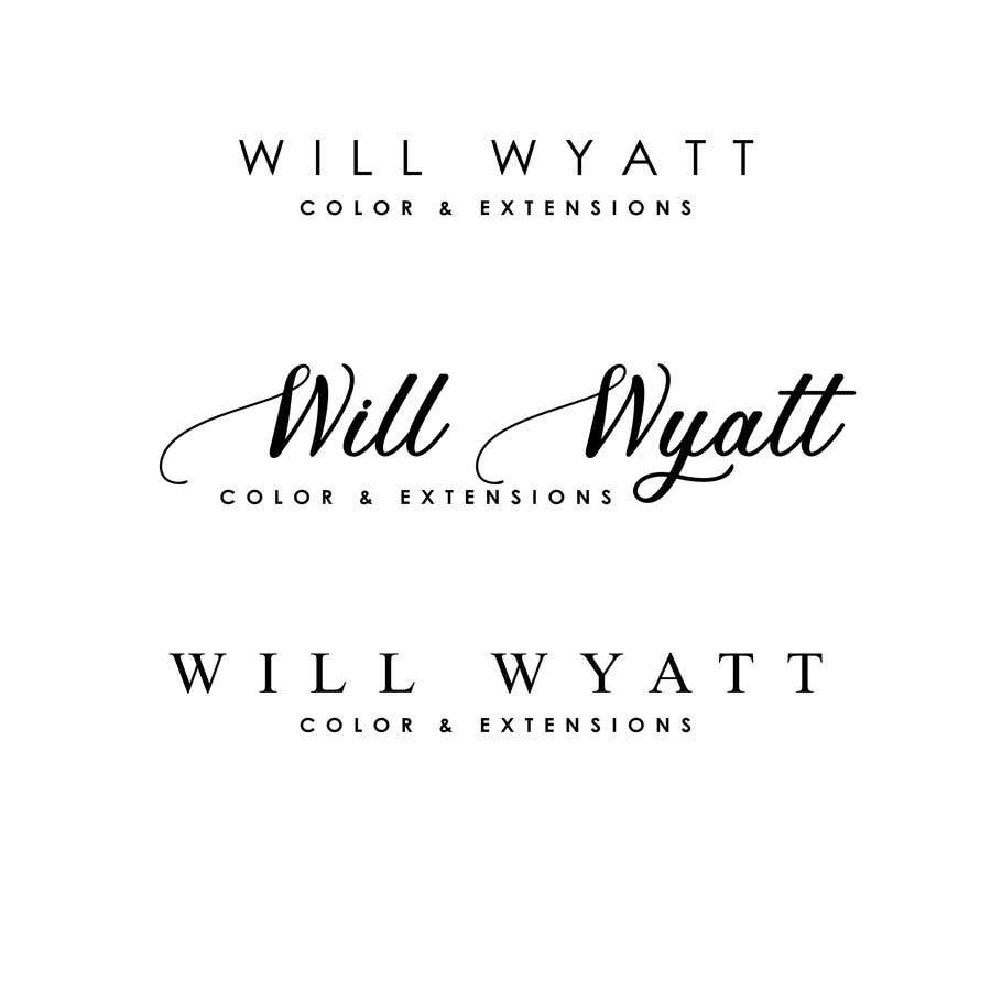 Entry 101 By Anthony2020 For I Need A Logo That Says Classy And Modern With An Attitude For A Hair Salon Name Is Will Wyatt Color Extensions 27 03 2020 17 28 Edt Freelancer