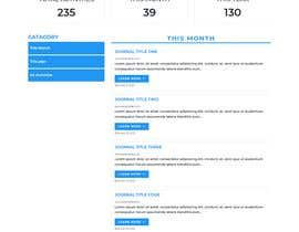 #42 for Page Design + HTML/CSS by mdalinoor129