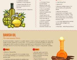 #8 para Infographics for comparison of different Wood Worktop  Oils de DipakGraphics