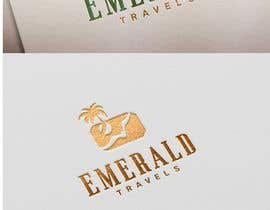 airbrusheskid tarafından Emerald Travels Logo için no 95
