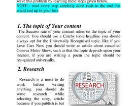 #12 for Guest Blogger for publishing website by Divyamsaldi