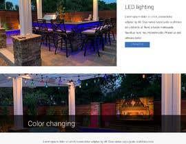 #19 для Build a Outdoor Lighting Website от ericktavarez