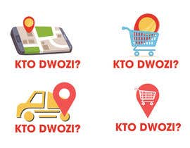 """#6 cho There is an application searching for grocery shops offering delivery. Need logo for this. Please also include text """"Kto dowozi?"""" (Who delivers?) bởi manofnegotiation"""