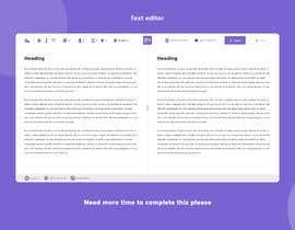 #29 for Create beautiful design for an open source text editor by aminansar