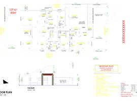 #35 для 2D Home House Designs in AUTO CAD - Construction Drawings - Working Drawings - ONGOING WORK Australia от ahat5122