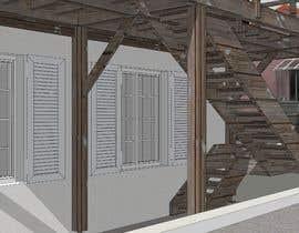 #3 для Design a wooden staircase от hardikmewada