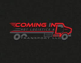"#24 для I need a logo for my business the name has to be included ""Coming In Hot Logistics and Transport LLC"" creative ideas with different font incorporating flames and possibly a graphic with a dually truck pulling a trailer like the ones shown in the images от designhub705"