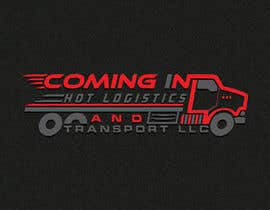 "#26 для I need a logo for my business the name has to be included ""Coming In Hot Logistics and Transport LLC"" creative ideas with different font incorporating flames and possibly a graphic with a dually truck pulling a trailer like the ones shown in the images от designhub705"