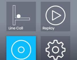 #7 для Graphical interface of a tennis sports device от Ibtisamhbtr