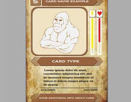 #27 untuk Trading Card Game Template Design. Possible Multiple Winners. oleh muakon69