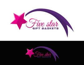 "nº 66 pour Design a Logo for ""Five Star Gift Baskets"" par cbarberiu"