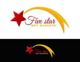 "nº 75 pour Design a Logo for ""Five Star Gift Baskets"" par cbarberiu"