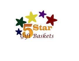 "nº 93 pour Design a Logo for ""Five Star Gift Baskets"" par socha58"