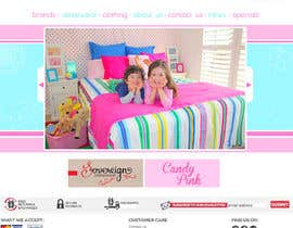 littlems tarafından Home Page for Childrens Clothing Brand - PSD artwork only için no 23