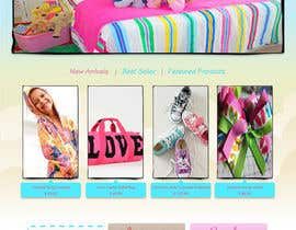 iamneni tarafından Home Page for Childrens Clothing Brand - PSD artwork only için no 21