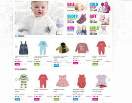 #24 for Home Page for Childrens Clothing Brand - PSD artwork only af lookinto
