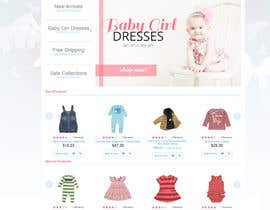 lookinto tarafından Home Page for Childrens Clothing Brand - PSD artwork only için no 25