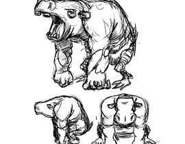 #9 для I need some simple creature concept art от fabianmarchal