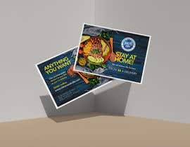 #102 for Direct mail (post card) design for home delivery service by sribala84
