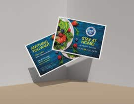 #103 for Direct mail (post card) design for home delivery service by sribala84