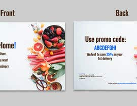 #79 for Direct mail (post card) design for home delivery service by uroojmughal484