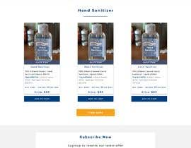 #27 for Design a website for a cosmetics brand selling hand sanitizer and masks by mojaharul