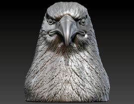 #7 for 3d silver eagle head by sharkfreelancer