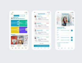 #164 for Graphic Design of Mobile App Screens by dribbble142
