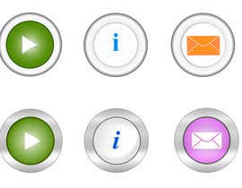 #24 untuk Icon or Button Design for Mobile Application oleh Naiembd