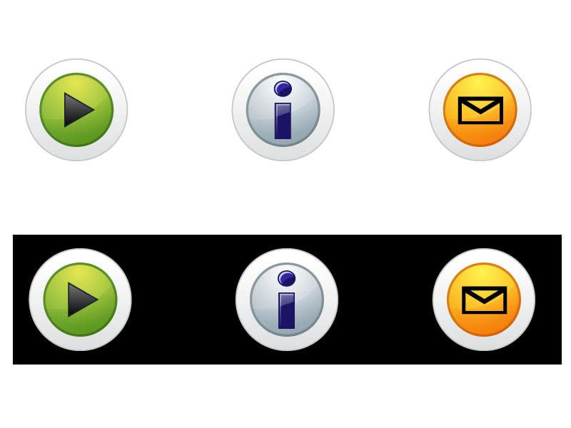 Bài tham dự cuộc thi #                                        27                                      cho                                         Icon or Button Design for Mobile Application
