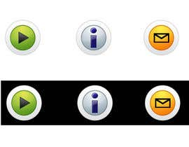 #27 untuk Icon or Button Design for Mobile Application oleh RoxanaFR