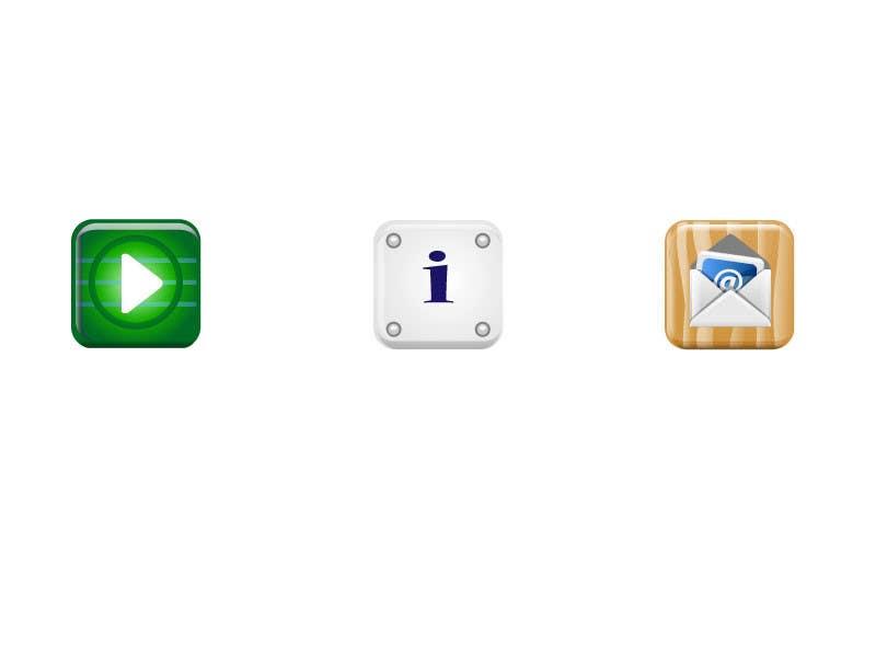 Bài tham dự cuộc thi #                                        32                                      cho                                         Icon or Button Design for Mobile Application