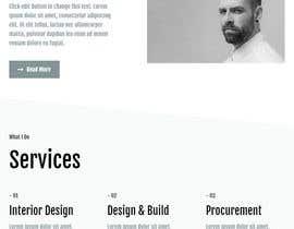 Nro 6 kilpailuun Redesign my website UI/UX käyttäjältä magdalenoal5018