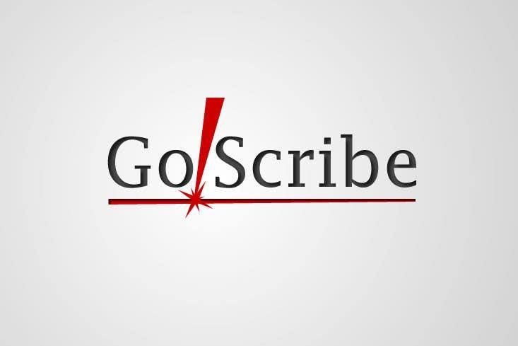 Contest Entry #102 for GoScribe Logo