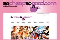 Graphic Design Contest Entry #82 for Logo Design for socheapsogood.com