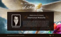 Graphic Design Kilpailutyö #7 kilpailuun Just one static web page (with angels or divine wibes)