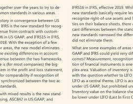 #9 для Difference of IFRS1-16 with current US GAAP Sox от Eximious92