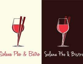 Nro 27 kilpailuun Design a Logo for Solana Pho & Bistro käyttäjältä maromi8