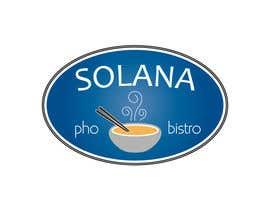#64 for Design a Logo for Solana Pho & Bistro by mirceabaciu