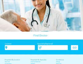 breekbrains님에 의한 Design a Website Mockup for an Online Medical Resource을(를) 위한 #10