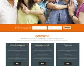 sabhyata18님에 의한 Design a Website Mockup for an Online Medical Resource을(를) 위한 #7