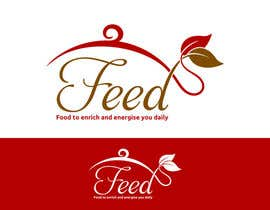 #134 para Design a Logo for 'FEED' - a new food brand and healthy takeaway store por cbarberiu