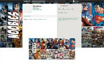 Graphic Design Kilpailutyö #7 kilpailuun Twitter Background for Noobics Blog