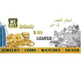 #8 for Design a Banner for Dubai gold application by souadsaid