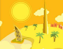 #6 for Design a Banner for Dubai gold application by johnbeetle
