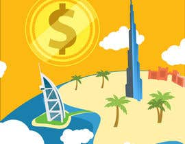 #12 for Design a Banner for Dubai gold application by johnbeetle