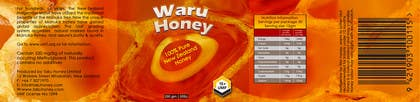 #38 for Waru Honey label by msdvenkat