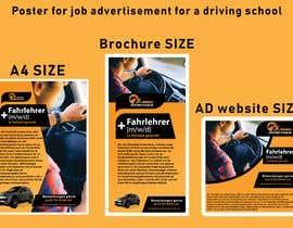 #4 für Poster for job advertisement for a driving school von HussainHassan11