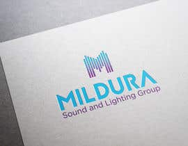 #26 para Design a Logo for Mildura Sound and Lighting Group por ekaterynakat