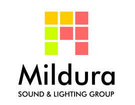 MishaMashina tarafından Design a Logo for Mildura Sound and Lighting Group için no 21